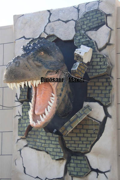 Waterproof Animatronic Dinosaur Head