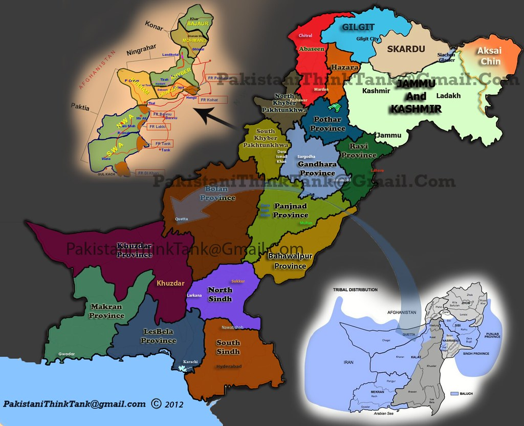 New Provinces For Pakistan Need Of The Hour Caylus Blog - Pakistan language map