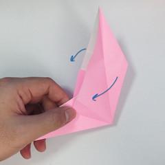 สอนการพับกระดาษเป็นลูกสุนัขชเนาเซอร์ (Origami Schnauzer Puppy) 027
