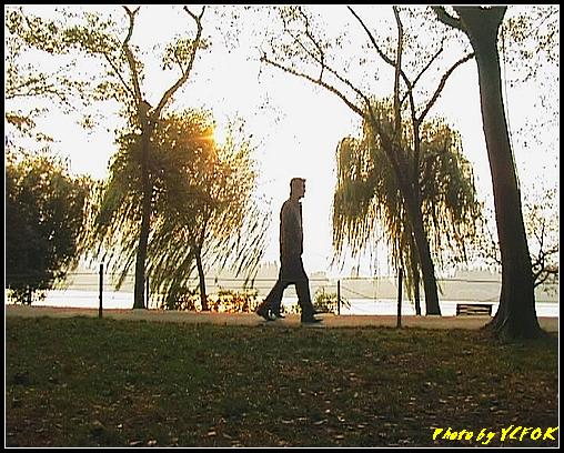 杭州 西湖 (其他景點) - 279 (在西湖十景之 蘇堤 上看西裡湖的黃昏)