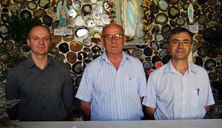 Frei André Audibert, Frei Jatir Scortegagna e Frei Arlindo Itacir Battistel
