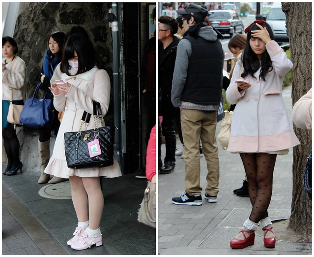 Tokyo lady street style and infantilization culture