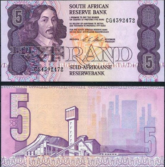 5 Randov Južná Afrika 1994, Pick 119e