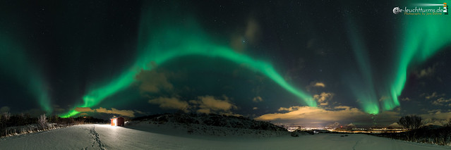 Northern Lights above Leknes