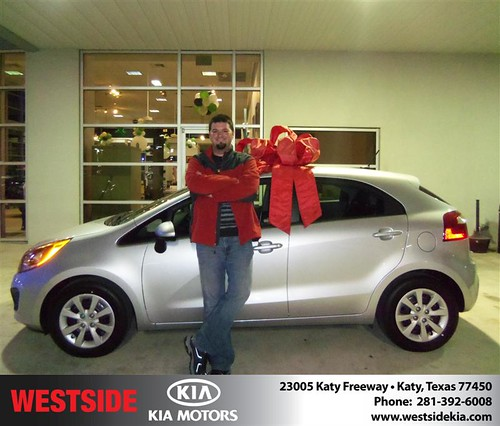 Happy Anniversary to Jeremy Warren on your 2013 #Kia #Rio from  Gilbert Guzman  and everyone at Westside Kia! #Anniversary by Westside KIA