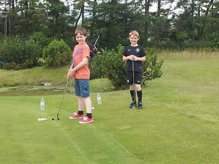 Junior Golf members