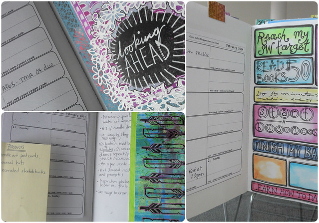 Charlotte's DIY Calendar pages