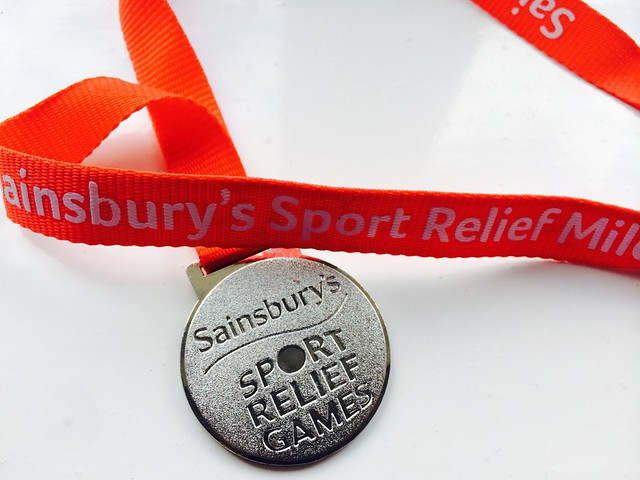 Sport Relief Games Medal