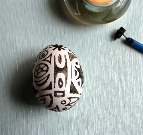 DIY Pysanky Style Easter Eggs