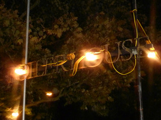 Boiler House Entrance Sign - 2010