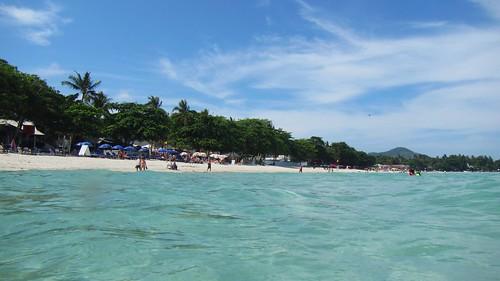 Koh Samui Chaweng Beach - center チャウエンビーチ