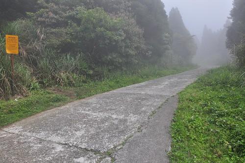 小觀音山西峰戰備道登山口