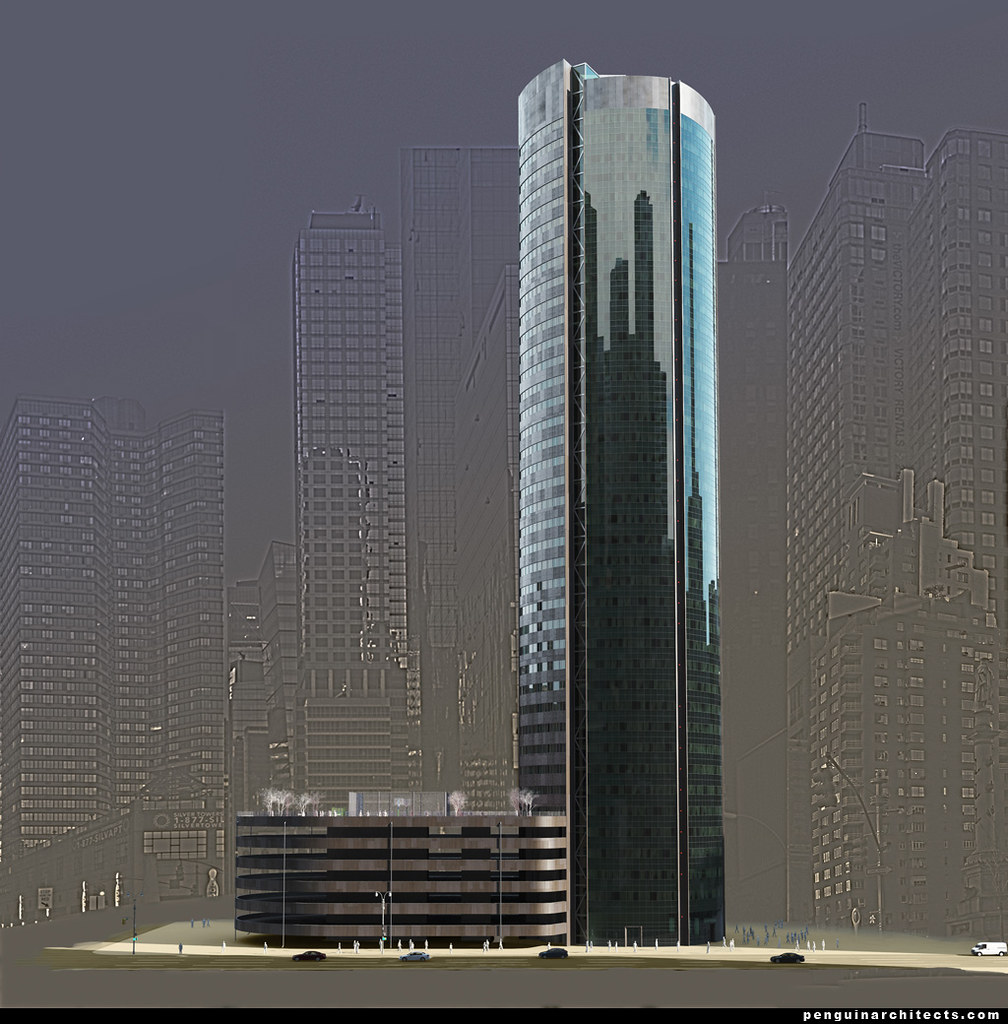 Living cities - Residental Towers for 21 century  v01