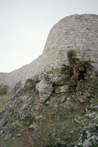 城壁 / castle wall