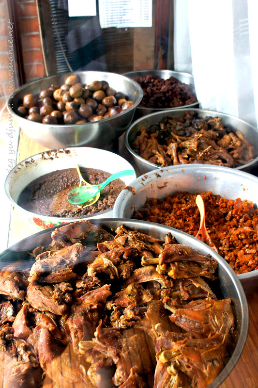Nasi Gudeg Yu Djum, Yogyakarta - selection