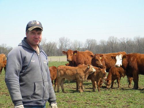 Keegan Poe received disaster funding for grazing losses he suffered during the drought in 2012.