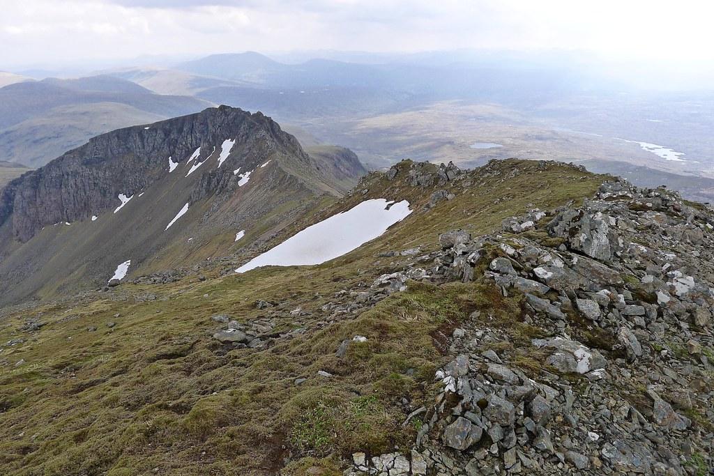 East ridge to Sgurr Dubh