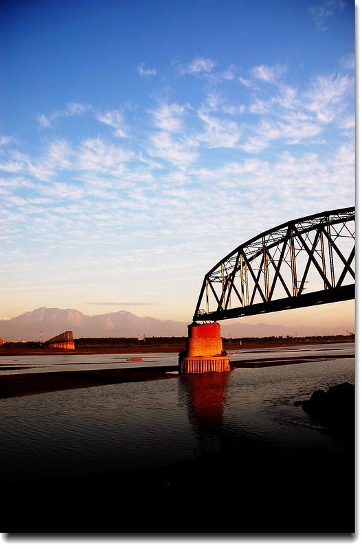 高屏舊鐵橋夕照 17