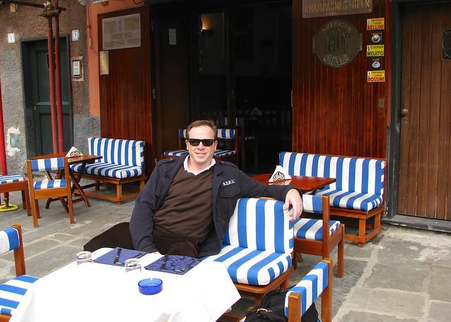 Brian in Portofino