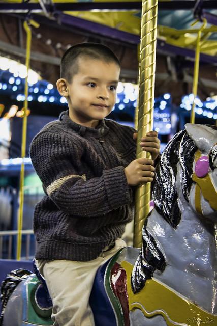Downey HighSchool Carnival Merry-Go-Round