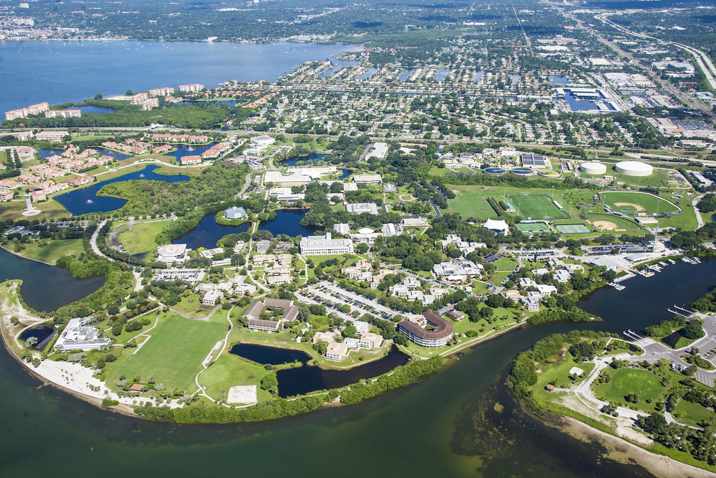 Eckerd College Aerial A View Of Campus From Above Flickr