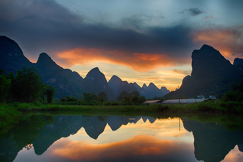 Guilin Sunset.