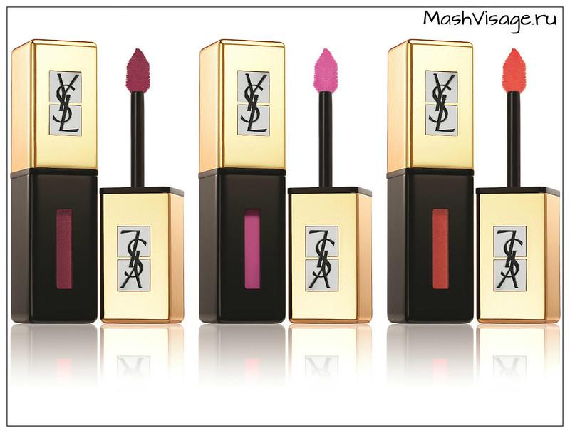 коллекция макияжа осень 2015 YSL POP WATER отзывы
