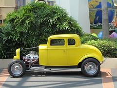 automobile, automotive exterior, wheel, vehicle, custom car, hot rod, antique car, ford model b, model 18, & model 40, vintage car, land vehicle, luxury vehicle, motor vehicle,