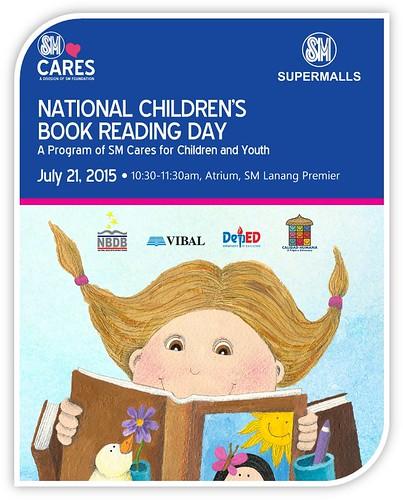 SM Lanang Premier Marks National Children's Book Reading Day