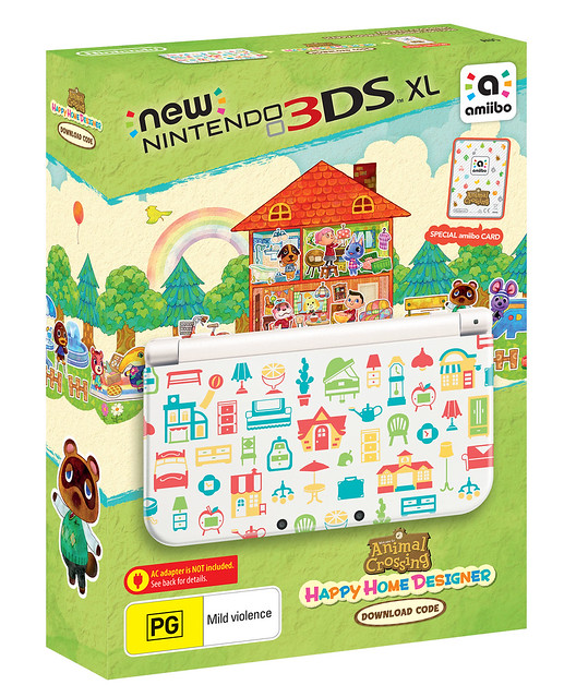 Animal crossing 3ds xl bundle cover plates and amiibo - Animal crossing happy home designer 3ds case ...