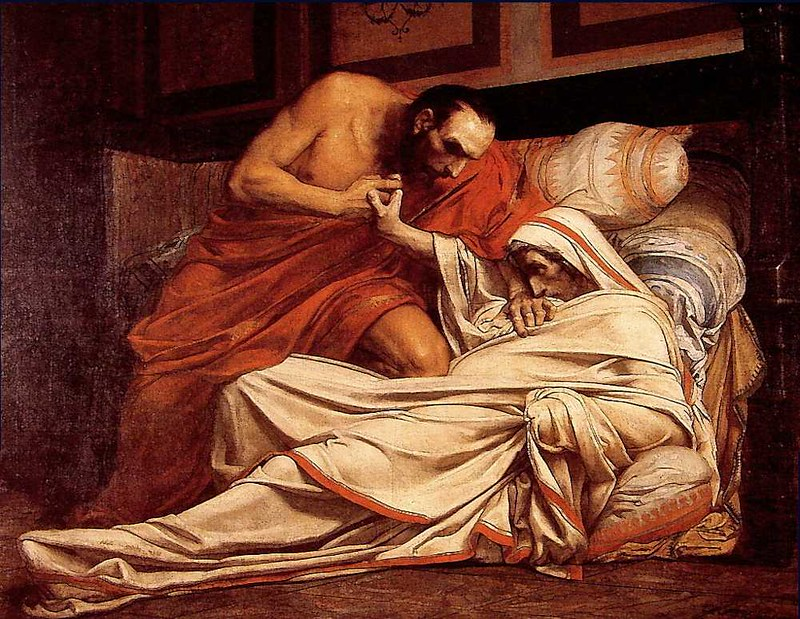 The Death of Tiberius, by Jean-Paul Laurens