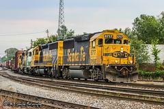 BNSF 8717 | EMD GP60 | BNSF Thayer South Subdivision