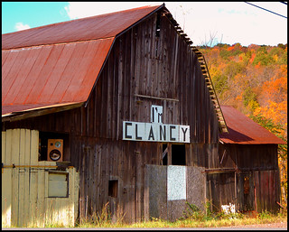 Clancy The Barn, out in the middle of nowhere Pa.
