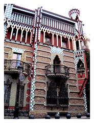 Foto de fachada de Casa Vicens