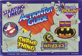 1991 Kenner Action Toy Guide