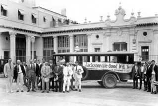 Businessmen on a good will tour: Jacksonville, Florida