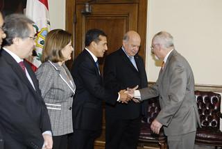 Secretario General de la OEA recibió al Presidente de Perú. Foto: OEA