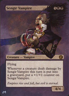 Sengir Vampire Magic the gathering altered Card Altered Art Vampire Deck Magic the Gathering Vampire cards MTG Card Art Magic Artwork Magic the Gathering art