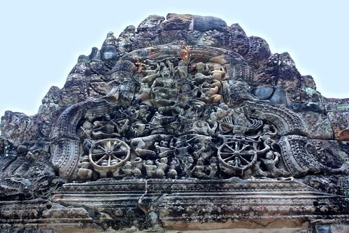 interesting frieze at Preah Khan