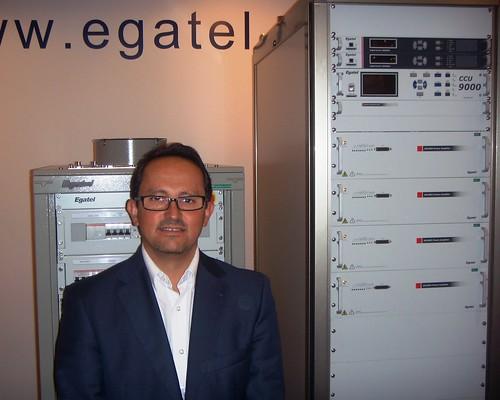 Egatel presenta en Singapur sus transmisores de TV de alta eficiencia