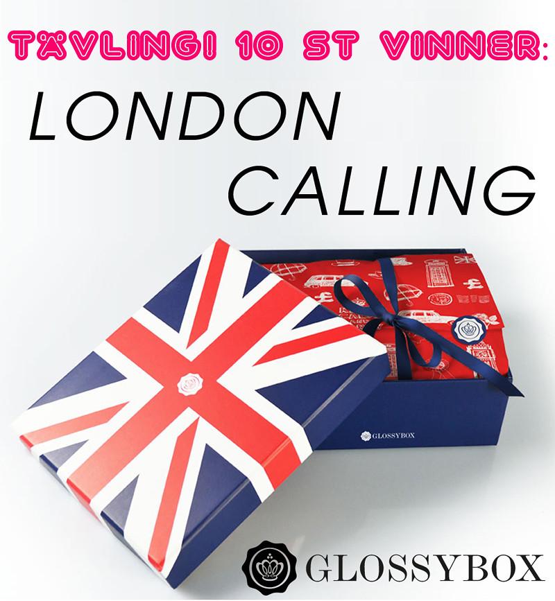 tävling glossybox london calling