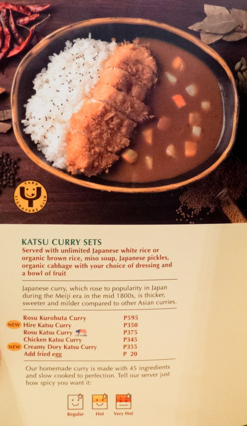 Yabu An Extraordinary Katsu Experience Review