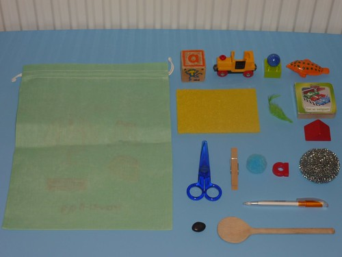 Montessori Mystery Bag (Photo from Elaine Ng Friis)