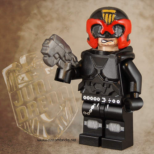 "Judge Dredd by Kristi ""McWii"""