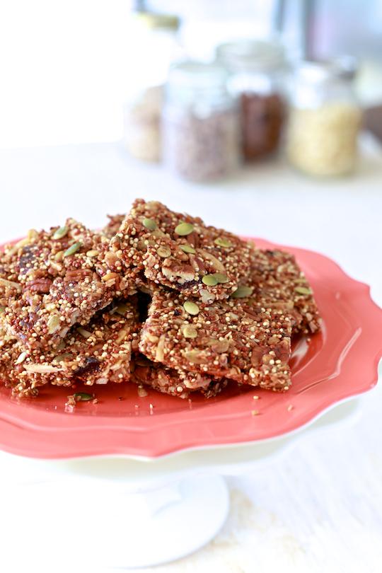 Quinoa Granola Bars 1