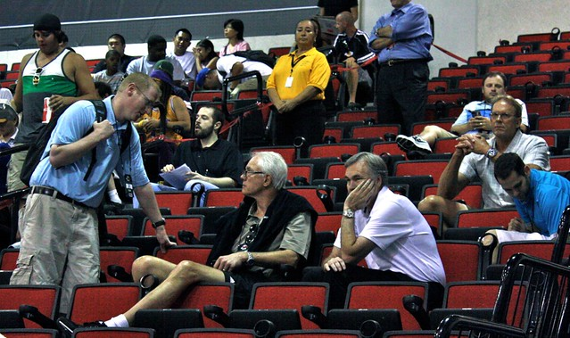 Mitch Kupchak, Mike D'Antoni, Kurt Rambis - Laker Nation - 2013 NBA Summer League