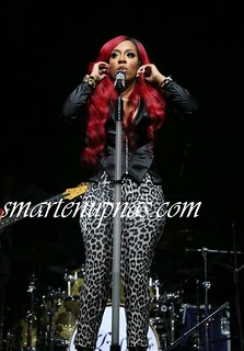 Sexy Ass K Michelle performing at Spotlight Live with Tyrese Ginuwine and tank TGT