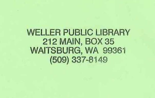 Weller Public Library (Waitsburg)