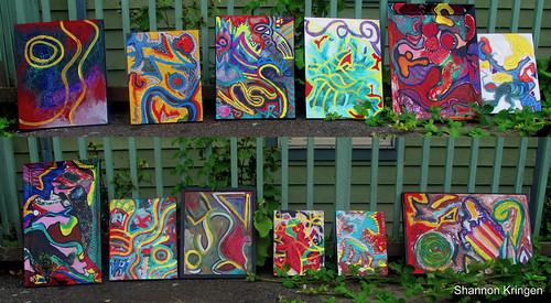 12 paintings i did