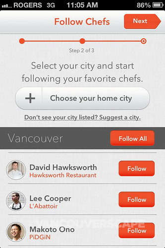 Chefs Feed iPhone App-3